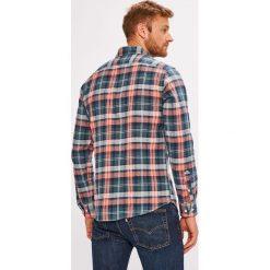 Premium by Jack&Jones - Koszula. Szare koszule męskie na spinki marki S.Oliver, l, z bawełny, z włoskim kołnierzykiem, z długim rękawem. Za 219,90 zł.