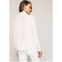 Answear - Koszula. Szare koszule damskie ANSWEAR, l, z poliesteru, casualowe, z długim rękawem. W wyprzedaży za 79,90 zł.