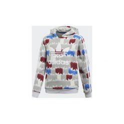 Bluzy Dziecko adidas  Bluza z kapturem GRPHC. Szare bluzy chłopięce rozpinane marki Adidas, z kapturem. Za 188,30 zł.