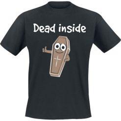 T-shirty męskie z nadrukiem: Dead Inside Dead Inside T-Shirt czarny