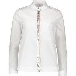 Topy sportowe damskie: Bluzka – Loose fit – w kolorze białym