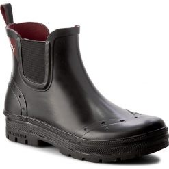 Kalosze HELLY HANSEN - W Karoline 111-97.991 Jet Black/Syrah/Light Grey. Czarne buty zimowe damskie Helly Hansen, z gumy. Za 249,00 zł.
