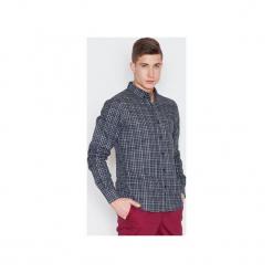 Koszula V010 Szary Krata. Czerwone koszule męskie marki Guns&tuxedos, m, button down. Za 99,00 zł.
