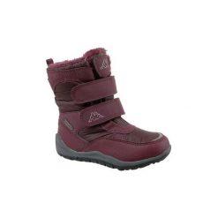 Buty Dziecko Kappa  Tundra Tex K 260484K-2525. Niebieskie buty trekkingowe chłopięce marki CMP, z materiału. Za 129,99 zł.