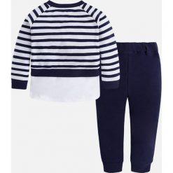 Mayoral - Komplet dziecięcy (bluza + spodnie) 98-134 cm. Szare bluzy dziewczęce rozpinane Mayoral, z haftami, z bawełny, z długim rękawem, długie. Za 169,90 zł.
