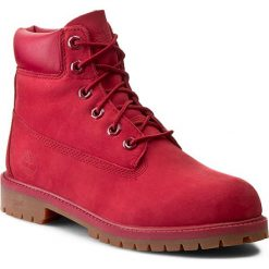 Buty dziecięce: Trapery TIMBERLAND – 6 In Premium Wp Boot A13HV  Red