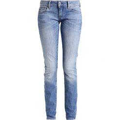 GStar 3301 LOW SKINNY  Jeans Skinny Fit aiden stretch denim. Niebieskie boyfriendy damskie G-Star. W wyprzedaży za 399,20 zł.
