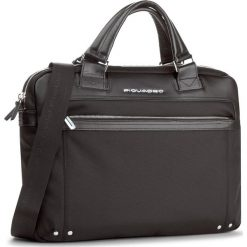 Torba na laptopa PIQUADRO - CA3339LK/N Czarny. Czarne plecaki męskie marki Piquadro, z materiału. W wyprzedaży za 949,00 zł.