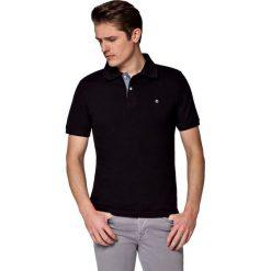 Koszulka Czarna Polo Jack. Czarne koszulki polo marki LANCERTO, m, z bawełny, z krótkim rękawem. W wyprzedaży za 69,90 zł.