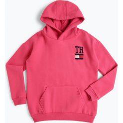 Tommy Hilfiger - Dziewczęca bluza nierozpinana, różowy. Czerwone bluzy dziewczęce rozpinane TOMMY HILFIGER. Za 349,95 zł.