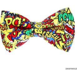 Muchy męskie: Mucha Boom Pow – Yellow –
