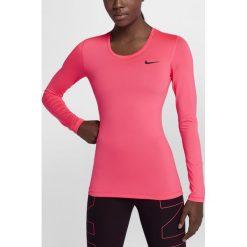 BLUZKA W NP TOP LS. Czarne bluzki z odkrytymi ramionami Nike, z materiału. Za 84,99 zł.