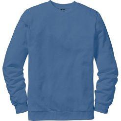 Bluza dresowa bonprix niebieski dżins. Niebieskie bejsbolówki męskie bonprix, l, z dresówki. Za 44,99 zł.