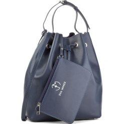 Torebka EVA MINGE - Loida 2B 17BR1372287EF  107. Niebieskie torebki worki Eva Minge, ze skóry. W wyprzedaży za 339,00 zł.