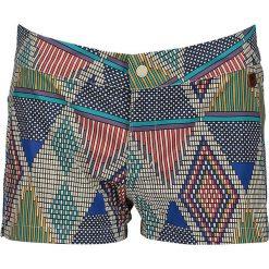 """Bermudy damskie: Szorty """"Srwtr Hybrd"""" z kolorowym wzorem"""