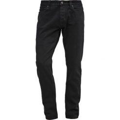 Dickies NORTH CAROLINA Jeansy Zwężane black. Szare jeansy męskie marki Dickies, na zimę, z dzianiny. Za 309,00 zł.
