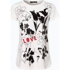 T-shirty damskie: Weekend MaxMara – T-shirt damski – Pesco, czarny