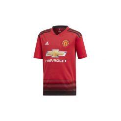 T-shirty z krótkim rękawem Dziecko  adidas  Koszulka podstawowa Manchester United. Czerwone t-shirty chłopięce z krótkim rękawem Adidas. Za 279,00 zł.