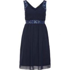 Sukienki hiszpanki: Sukienka wieczorowa bonprix ciemnoniebieski