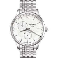 PROMOCJA ZEGAREK TISSOT T-CLASSIC T063.639.11.037.00. Szare zegarki męskie TISSOT, ze stali. W wyprzedaży za 1619,21 zł.