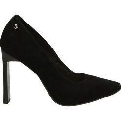 Czółenka - 2601 CAM NER1. Czarne buty ślubne damskie Venezia, ze skóry. Za 159,00 zł.
