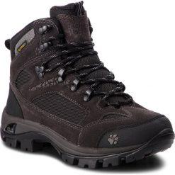 Trekkingi JACK WOLFSKIN - All Terrain 8 Texapore Mid W 4017882 Shadow Black. Czarne buty trekkingowe damskie Jack Wolfskin. W wyprzedaży za 509,00 zł.