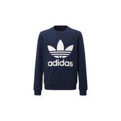 Bluzy Dziecko adidas  Bluza z zaokrąglonym dekoltem Trefoil. Czarne bluzy dziewczęce rozpinane marki Nike. Za 125,30 zł.
