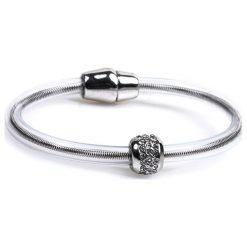 Bransoletki damskie: Nowoczesna bransoletka z pierścieniem
