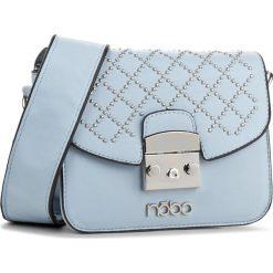 Torebka NOBO - NBAG-E0720-C012 Niebieski. Niebieskie listonoszki damskie marki Nobo, ze skóry ekologicznej. W wyprzedaży za 119,00 zł.