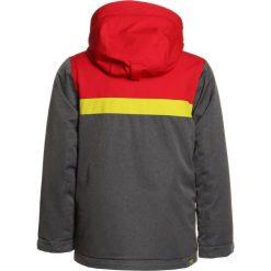 Ziener APLI JUN  Kurtka snowboardowa grey iron melange. Niebieskie kurtki chłopięce sportowe marki bonprix, z kapturem. W wyprzedaży za 423,20 zł.