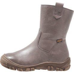 Froddo Śniegowce grey. Niebieskie buty zimowe damskie marki Froddo, z materiału, na wysokim obcasie. W wyprzedaży za 258,30 zł.