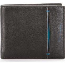 SKÓRZANY PORTFEL MĘSKI PIERRE CARDIN POJEMNY. Czarne portfele męskie marki Pierre Cardin, ze skóry. Za 129,00 zł.