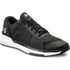 Buty UNDER ARMOUR - Ua Showstopper 1295774-001 Blk/Wht/Msv. Czarne buty fitness męskie marki Under Armour, z gumy. W wyprzedaży za 219,00 zł.