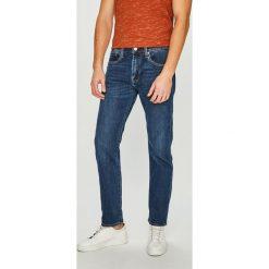 Levi's - Jeansy Taper Crocodile. Brązowe jeansy męskie z dziurami marki Levi's®. Za 399,90 zł.