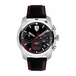 """Zegarek """"0830444-PRIMATO"""" w kolorze czarno-srebrnym. Czarne, analogowe zegarki męskie Lacoste, srebrne. W wyprzedaży za 929,95 zł."""
