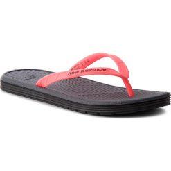 Japonki NEW BALANCE - W6076BKI Black/Pink. Czerwone crocsy damskie marki New Balance, z gumy. Za 59,99 zł.