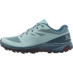 Salomon OUTLINE Obuwie hikingowe trellis/reflecting pond/atlantis. Białe buty sportowe damskie marki Nike Performance, z materiału, na golfa. Za 479,00 zł.