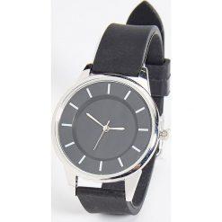 Zegarki damskie: Minimalistyczny zegarek – Czarny