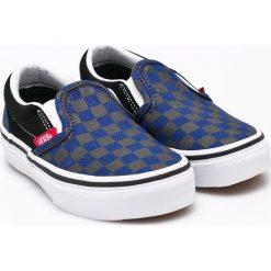 Vans - Tenisówki dziecięce Classic. Szare buty sportowe chłopięce marki Vans, z materiału. W wyprzedaży za 129,90 zł.