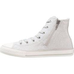 Trampki chłopięce: Converse CHUCK TAYLOR ALL STAR SIDE ZIP Tenisówki i Trampki wysokie silver/white/mouse
