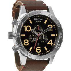 Zegarki męskie: Zegarek męski Black Brown Nixon 51-30 Chrono leather A1241019