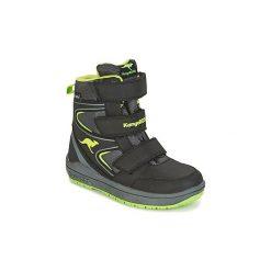 Śniegowce Dziecko Kangaroos  ROCKIL. Niebieskie buty zimowe chłopięce marki KangaROOS. Za 295,20 zł.