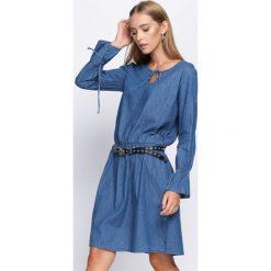 Sukienki: Niebieska Sukienka Temporary One