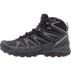Salomon X ULTRA 3 MID GTX Buty trekkingowe black/india ink/monument. Czarne buty trekkingowe męskie Salomon, z gumy, outdoorowe. Za 719,00 zł.