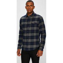 Casual Friday - Koszula. Czarne koszule męskie na spinki marki Casual Friday, m, w kratkę, z bawełny, z długim rękawem. W wyprzedaży za 159,90 zł.