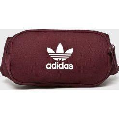 Adidas Originals - Nerka. Brązowe walizki adidas Originals, w paski, z materiału, małe. Za 99,90 zł.