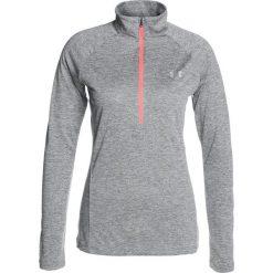Under Armour NEW TECH ZIP TWIST Koszulka sportowa graphite. Szare t-shirty damskie Under Armour, l, z poliesteru, z długim rękawem. W wyprzedaży za 160,65 zł.