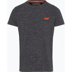 Superdry - T-shirt męski, szary. Szare t-shirty męskie Superdry, m, z materiału, z kontrastowym kołnierzykiem. Za 99,95 zł.