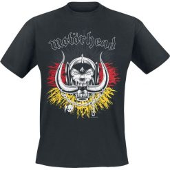 Motörhead German Warpig T-Shirt czarny. Czarne t-shirty męskie Motörhead, xxl. Za 54,90 zł.