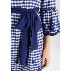 Sukienki hiszpanki: Cortefiel CHECKS PRINT STYLE  Sukienka koszulowa blues
